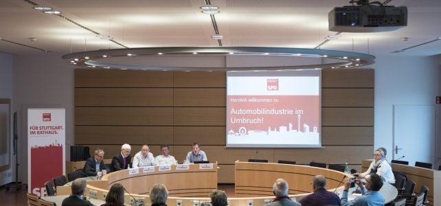 Zukunft der Automobilindustrie – Thema im Stuttgarter Rathaus